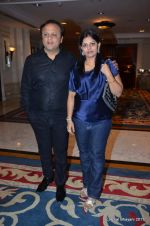 asif bhamla with wife at Zulfi Syed_s wedding reception on 15th Jan 2012 (2).JPG