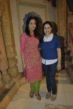 Pooja Joshi, Lata Seth at Rajan Shahi_s get together on Yeh Ristha Kya Kehlata Hai sets on completion of three years on 16th Jan 2012 (16).JPG