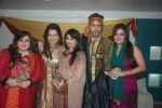 Bhagyashree, Deepshikha, Sheeba, Delnaz Paul, Kaishav Arora at Deepshikha_s mata ki chowki in Blue Waters on 17th Jan 2012 (87).JPG
