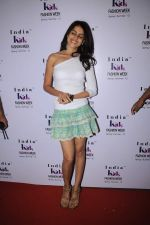 Genelia D Souza walk the ramp for Nishka Lulla Show at Kids Fashion Week day 3 on 19th Jan 2012 (70).JPG