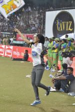 Genelia D Souza snapped at CCL match in Kochi on 23rd Jan 2012 (15).JPG