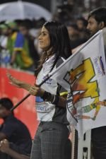 Genelia D Souza snapped at CCL match in Kochi on 23rd Jan 2012 (16).JPG