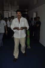 Mammootty at MUmbai Heroes CCl match in Kochi on 23rd JAn 2012 (39).JPG