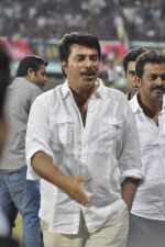Mammootty at MUmbai Heroes CCl match in Kochi on 23rd JAn 2012 (36).JPG