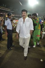 Mammootty at MUmbai Heroes CCl match in Kochi on 23rd JAn 2012 (37).JPG