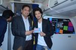 Rajat Barmecha at Nokia Lumia sky party  on board of Jet Airways on 23rd Jan 2012 (26).jpg