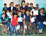 Rajeev Khandelwal_s Act Of Cheer in The Garodia International Centre for Learning on 23rd Jan 2012 (11).JPG