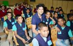 Rajeev Khandelwal_s Act Of Cheer in The Garodia International Centre for Learning on 23rd Jan 2012 (16).JPG