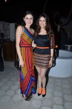 sherry shroff with shubhika sharma at the launch of ZYNG calendar in Olive on 26th Jan 2012 (129).JPG