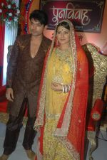 Gurmeet Choudhary and Kratika Sengar at ZEE TV Punar Vivah serial launch in Westin Hotel on 30th Jan 2012 (40).JPG