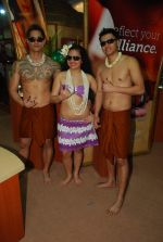 Hawaiin dancers at Maui Jim sunglasses launch in NSE Goregaon on 30th Jan 2012 (10).JPG