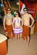 Hawaiin dancers at Maui Jim sunglasses launch in NSE Goregaon on 30th Jan 2012 (6).JPG