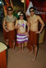 Hawaiin dancers at Maui Jim sunglasses launch in NSE Goregaon on 30th Jan 2012 (8).JPG