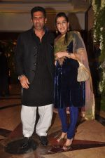 Sunil Shetty, Mana Shetty at Ritesh & Genelia_s Sangeet Ceremony in Taj Lands end, Mumbai on 31st Jan 2012 (244).JPG