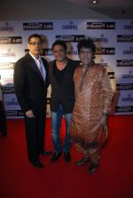 Sudesh Berry, Anand Raj Anand at Malayalam film Second Show premiere in PVR on 2nd Feb 2012 (7).jpg