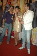 Mugdha Godse, Shreyas Talpade, Muzmmil Ibrahim at Will you Marry me music launch in Mumbai on 3rd Feb 2012 (82).JPG