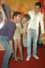 Mugdha Godse, Shreyas Talpade, Muzmmil Ibrahim at Will you Marry me music launch in Mumbai on 3rd Feb 2012 (86).JPG