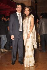 Queenie Dhody at Genelia D_Souza and Ritesh Deshmukh wedding reception in Hotel Grand Hyatt, Mumbai on 4th Feb 2012 (57).JPG
