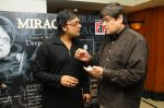 Deepak Pandit with Abhinav Upadhayay at the launch of Deepak Pandit_s Album Miracle in at Orchid Hotel, Vile Parle on 8th Feb 2012.JPG