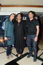 Ishita Arun, Deepak Pandit  with a friend at the launch of Deepak Pandit_s Album Miracle in at Orchid Hotel, Vile Parle on 8th Feb 2012.JPG
