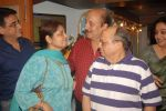 Anupam Kher at Anupam Kher_s father prayer meet in Isckon, Mumbai on 13th Feb 2012 (49).JPG