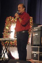 Anupam Kher at Anupam Kher_s father prayer meet in Isckon, Mumbai on 13th Feb 2012 (92).JPG