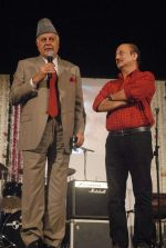 Anupam Kher at Anupam Kher_s father prayer meet in Isckon, Mumbai on 13th Feb 2012 (98).JPG