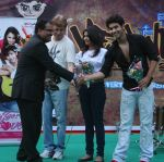 DY.Patil Profeesor and Marukh Mirza,Nazia Hussain,Assad Mirza at the Promotion of the Film Say Yes to Love at Dr.D.Y.Patil College_s Velawcity Fest 2012.JPG