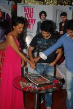 Mugdha Godse, Rajeev Khandelwal at Will You Marry Me promotional event in Andheri, Mumbai on 14th Feb 2012 (10).JPG