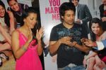 Mugdha Godse, Rajeev Khandelwal at Will You Marry Me promotional event in Andheri, Mumbai on 14th Feb 2012 (14).JPG
