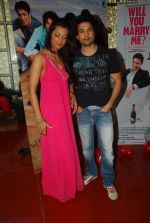 Mugdha Godse, Rajeev Khandelwal at Will You Marry Me promotional event in Andheri, Mumbai on 14th Feb 2012 (22).JPG