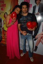 Mugdha Godse, Rajeev Khandelwal at Will You Marry Me promotional event in Andheri, Mumbai on 14th Feb 2012 (39).JPG