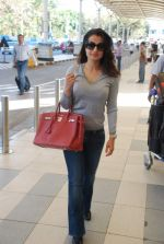 Amisha Patel snapped at airport, Mumbai on 16th Feb 2012 (2).JPG