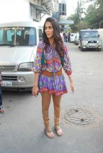 Genelia D_Souza on the sets of Dance India Dance in Famous on 20th feb 2012 (13).JPG