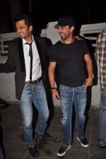 Ritesh Deshmukh, Aashish Chaudhary at Tere Naal Love Ho Gaya special screening in Famous on 20th Feb 2012 (103).JPG