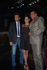 Ritesh Deshmukh, Genelia D_Souza, Mithun Chakraborty on the sets of Dance India Dance in Famous on 20th feb 2012 (58).JPG