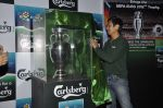 Baichung Bhutia unveil Carlsberg Euro Cup in Manchester United Cafe, MUmbai on 26th Feb 2012 (32).JPG