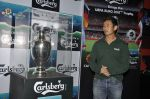 Baichung Bhutia unveil Carlsberg Euro Cup in Manchester United Cafe, MUmbai on 26th Feb 2012 (33).JPG