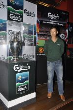 Baichung Bhutia unveil Carlsberg Euro Cup in Manchester United Cafe, MUmbai on 26th Feb 2012 (34).JPG