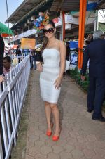 natasha poonawala at Poonawala breeders Multi Million race in Mumbai on 26th Feb 2012.JPG