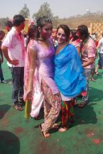 Priyal Gor at Colors Holi bash in Filmcity, Mumbai on 27th Feb 2012 (46).JPG