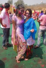 Priyal Gor at Colors Holi bash in Filmcity, Mumbai on 27th Feb 2012 (47).JPG