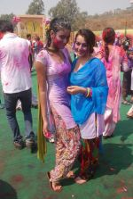 Priyal Gor at Colors Holi bash in Filmcity, Mumbai on 27th Feb 2012 (48).JPG