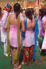 Priyal Gor at Colors Holi bash in Filmcity, Mumbai on 27th Feb 2012 (52).JPG
