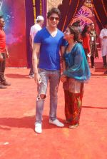 Priyal Gor at Colors Holi bash in Filmcity, Mumbai on 27th Feb 2012 (89).JPG