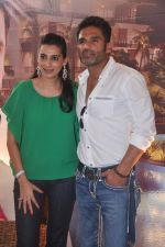 Sunil Shetty, Mana Shetty at Mana Shetty and Sharmilla Khanna_s Ariash exhibition in Blue Sea on 28th Feb 2012 (33).JPG