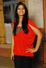 Vidhi parekh at Rajan Shahi_s  on the set get together for Jamuna Paar in Andheri on 27th Feb 2011.JPG
