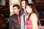 Juhii Sacchin and Laxmi at Juhii Parmar_s BIGG BOSS -season 5 winning bash on 29th Feb 2012.JPG