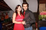 Juhii and Sacchin Shroff at Juhii Parmar_s BIGG BOSS -season 5 winning bash on 29th Feb 2012.JPG