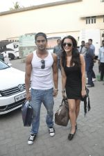 Prateik Babbar , Amy Jackson snapped at Mehboob Studio on 29th Feb 2012 (7).JPG